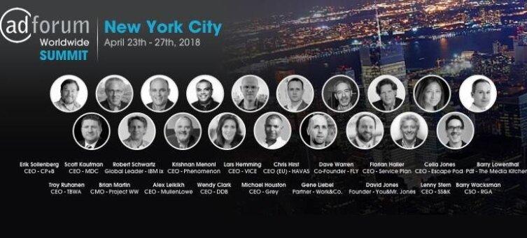 AdForum Worldwide Summit NYC April 2018